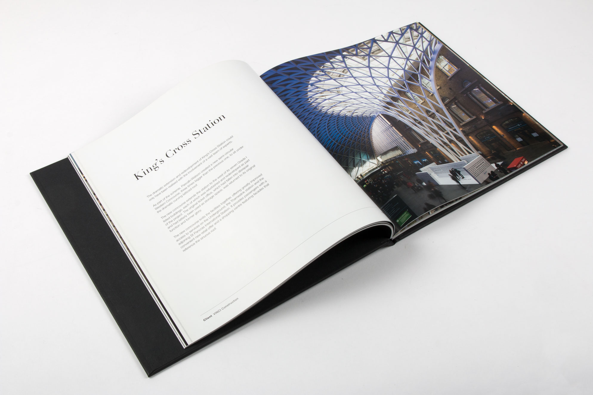 case bound property coffee table book
