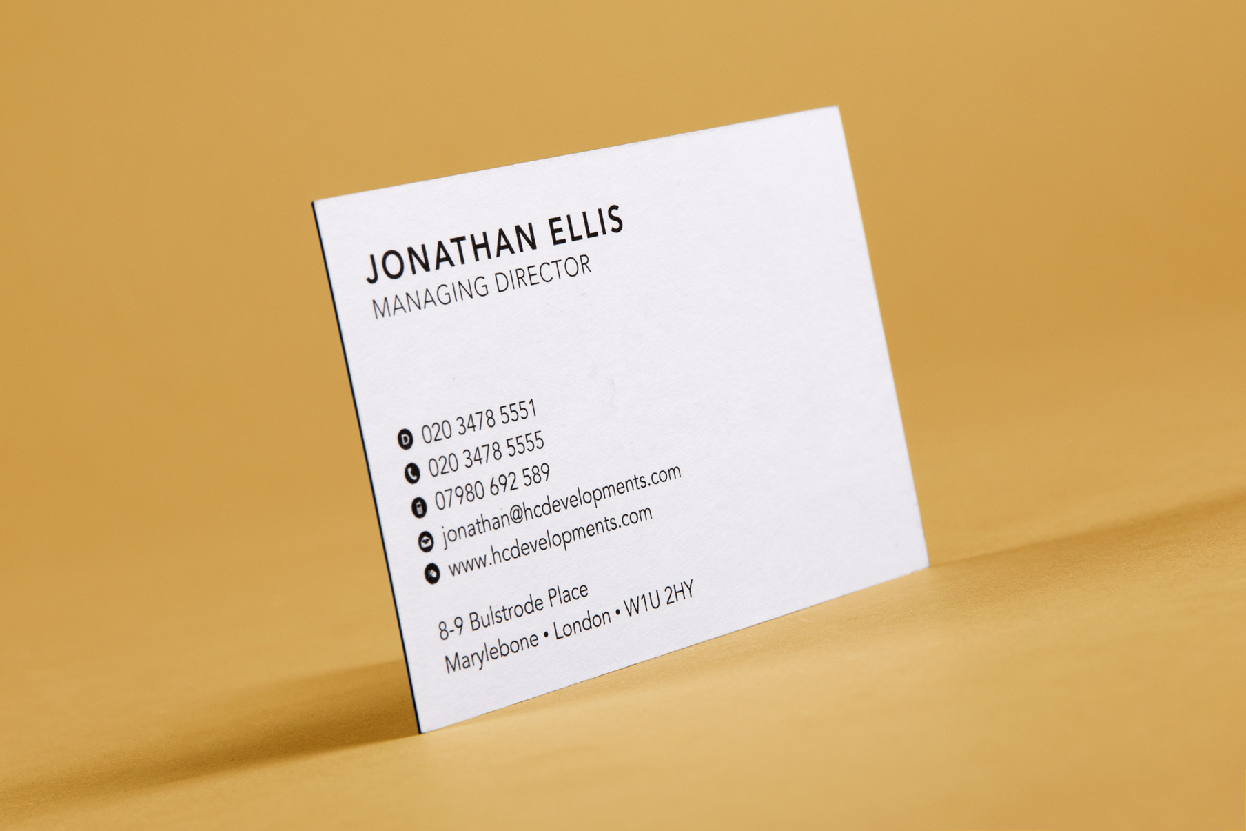 property business card